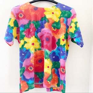 Limited Edition circa 80's floral neon top MP